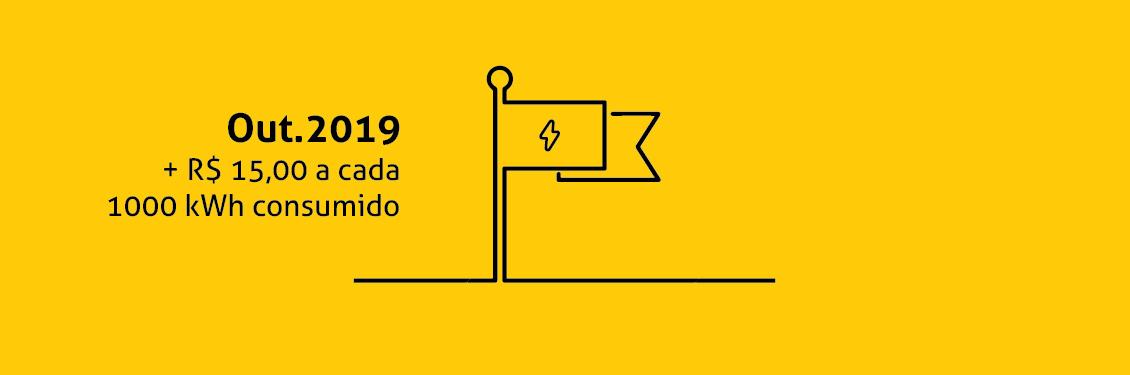 Bandeira Tarifária Amarela | Outubro/2019