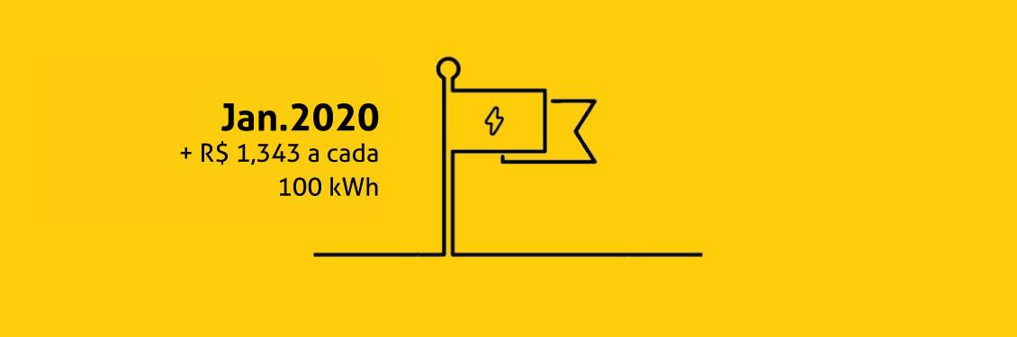 Bandeira Tarifária Amarela | Janeiro 2020